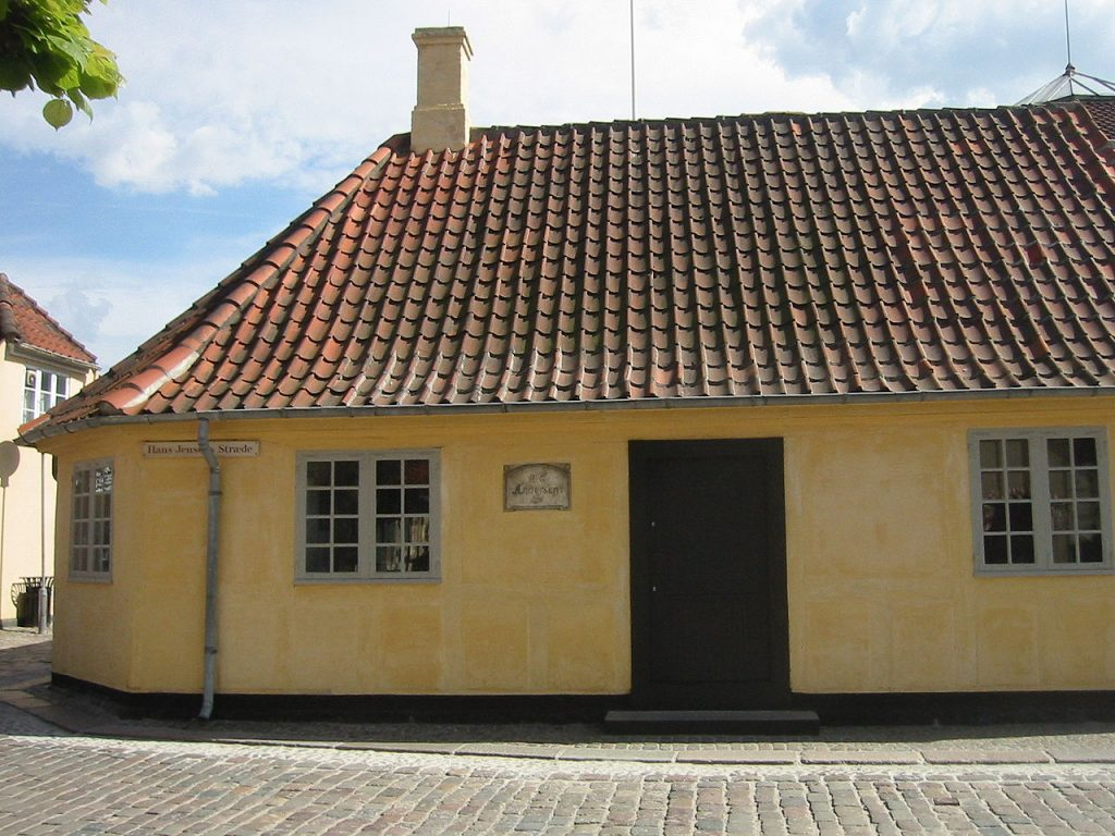 Hans Christian Andersen Birthplace Odense Denmark.