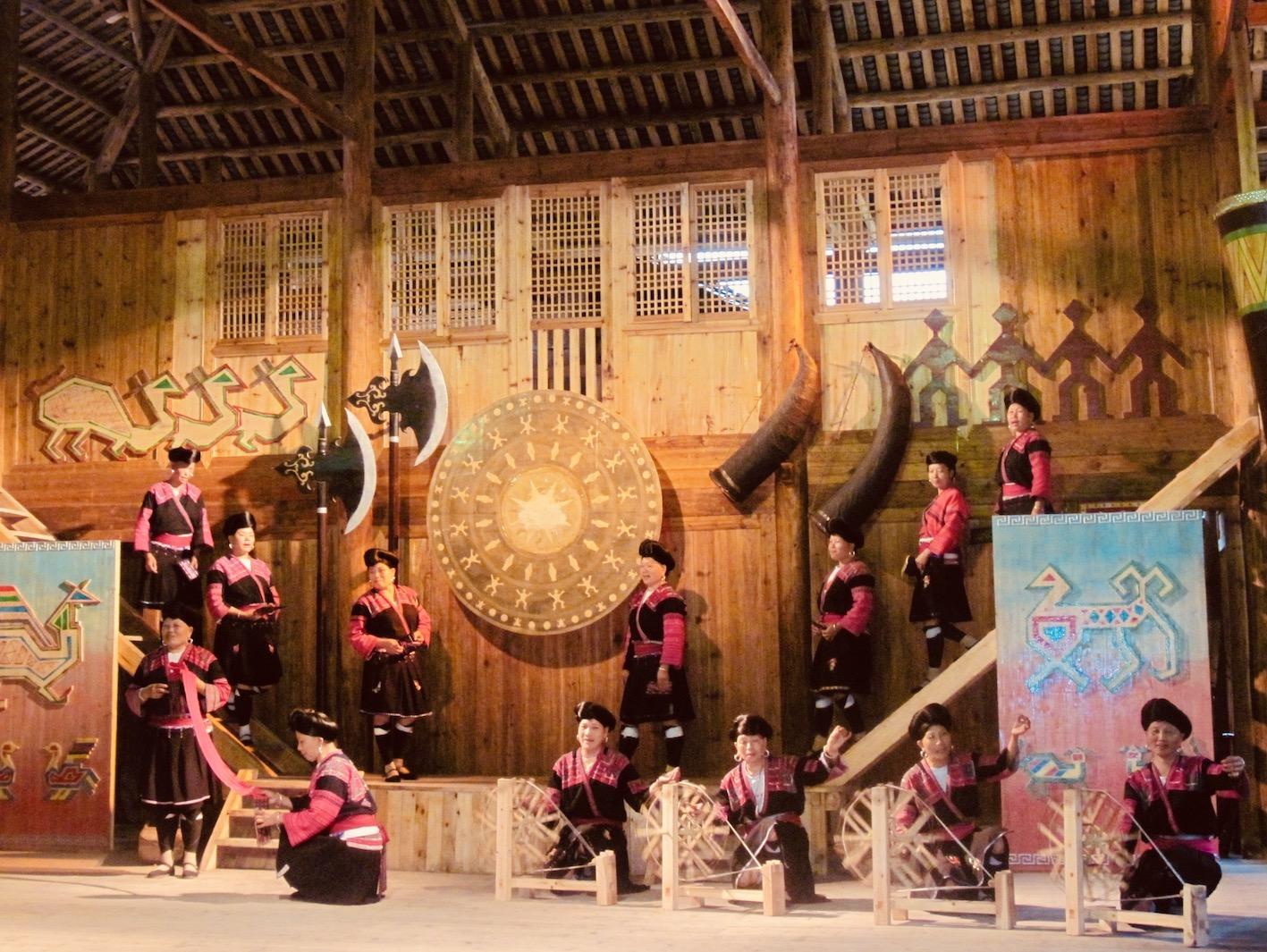 Huangluo Yao long hair Village China.