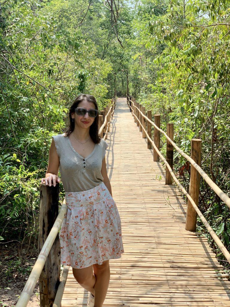 Kulen Elephant Forest Sanctuary.