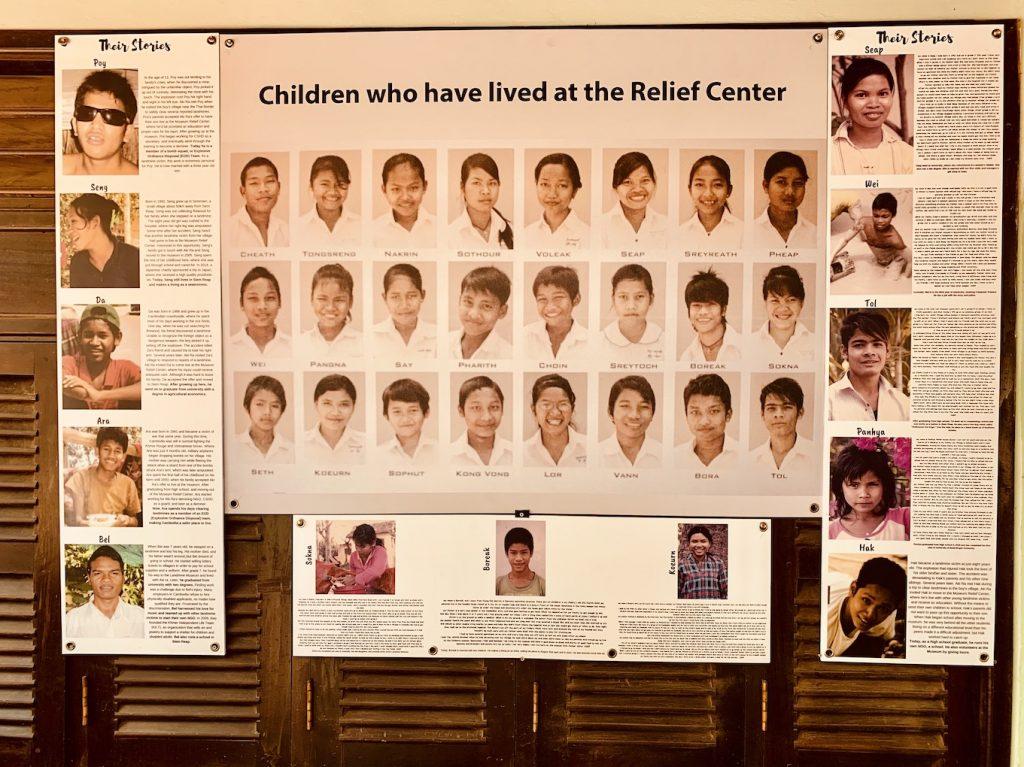 Landmine amputee relief center Cambodia.
