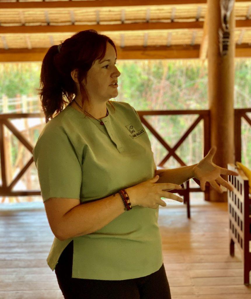 Leanne Wallace Sanctuary Manager Kulen Elephant Forest Sanctuary.