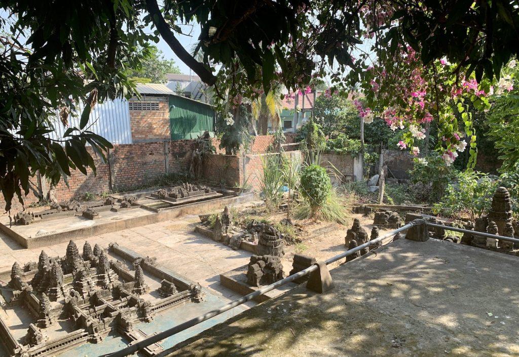 Miniature Replicas of Angkor.