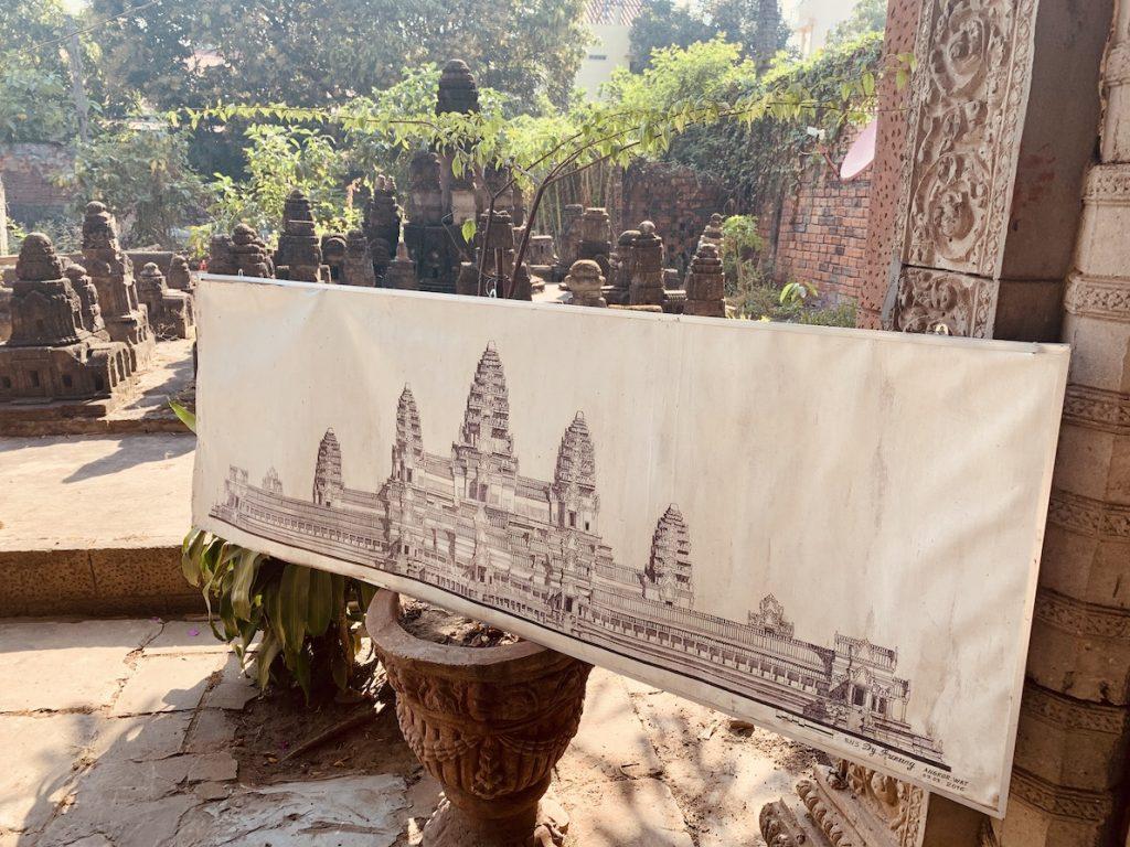 Miniature Replicas of Angkor Cambodia.