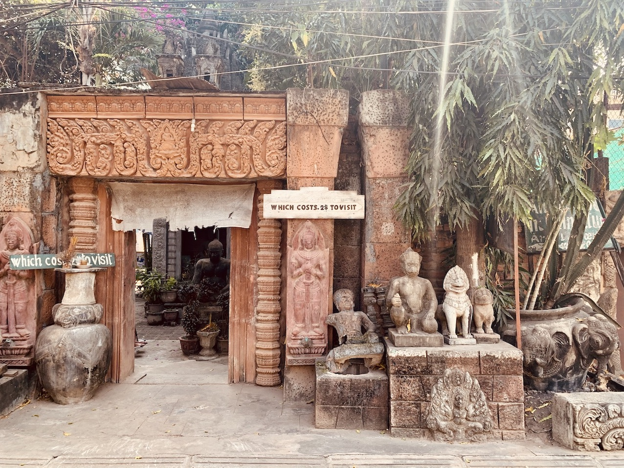 Miniature Replicas of Angkor Siem Reap.