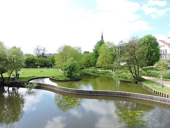 Munke Mose Gardens Odense Denmark.