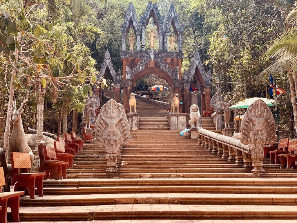 Preah Ang Thom Pagoda Kulen National Park Cambodia.
