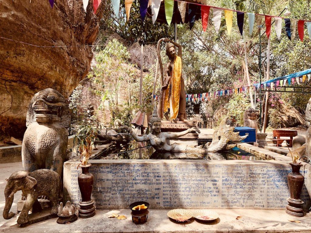 Preah Ang Thom Pagoda Siem Reap.