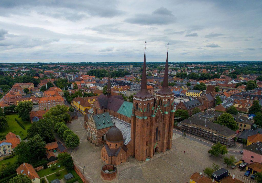 Roskilde Cathedral Denmark.