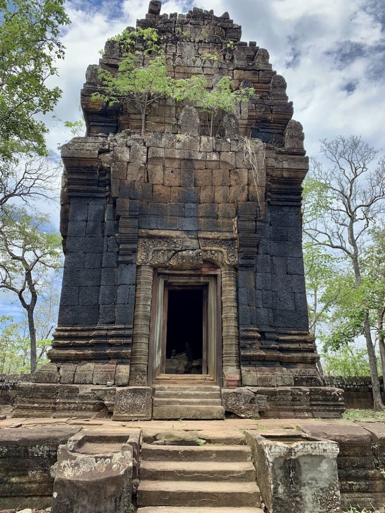The Black Lady Temple Prasat Neang Khmao Cambodia.