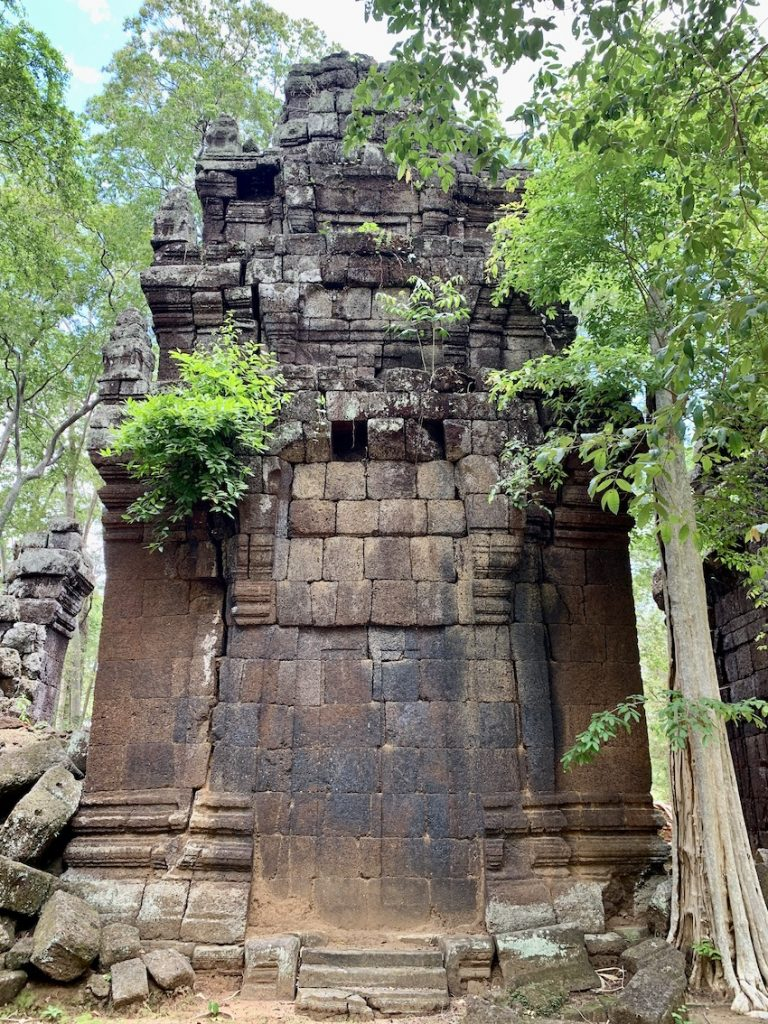 The Koh Ker Temples Cambodia.
