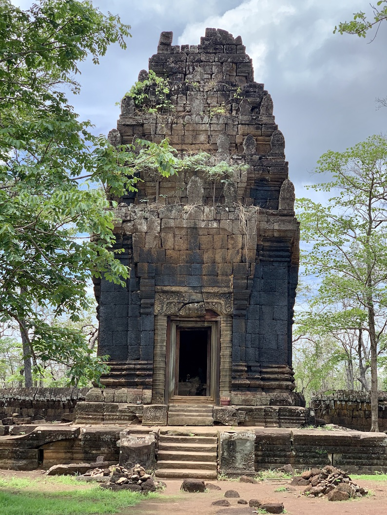 The Temple of the Black Lady Koh Ker.