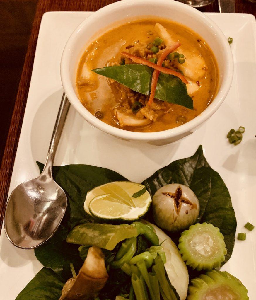 Traditional pork dish Cambodia.