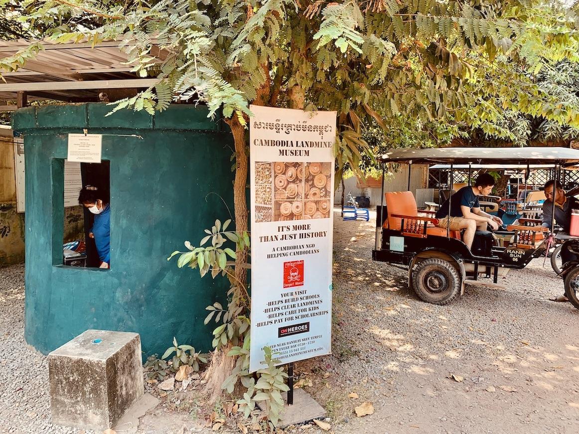 Visit Cambodia Landmine Museum.