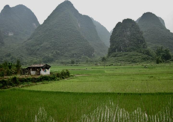Yangshuo County China.