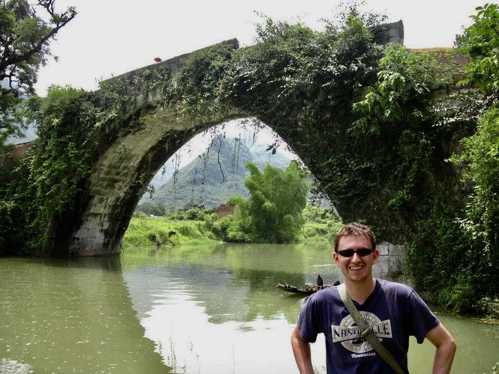 Yulong Bridge Yangshuo China.