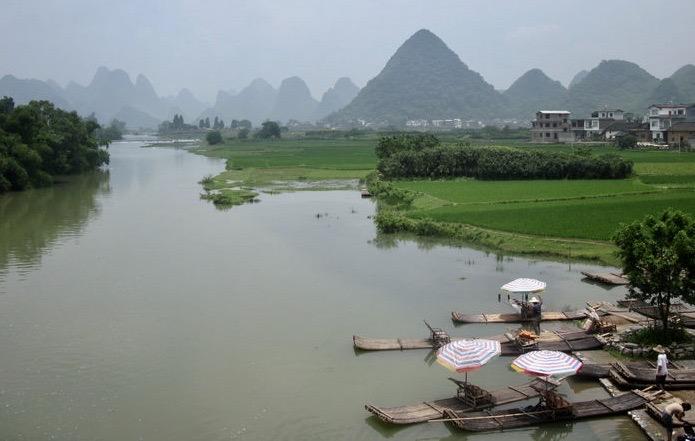 Yulong River Yangshuo China.