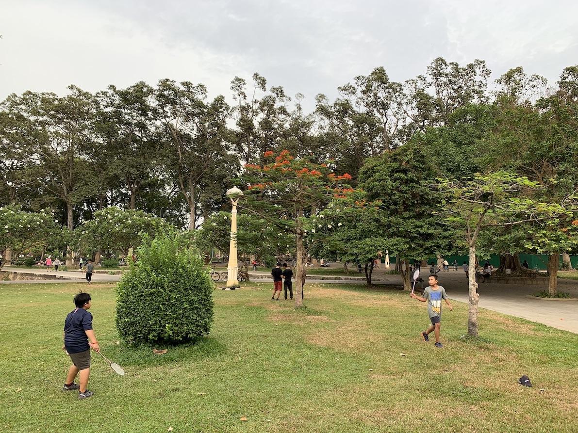 Badminton Royal Independence Gardens Siem Reap