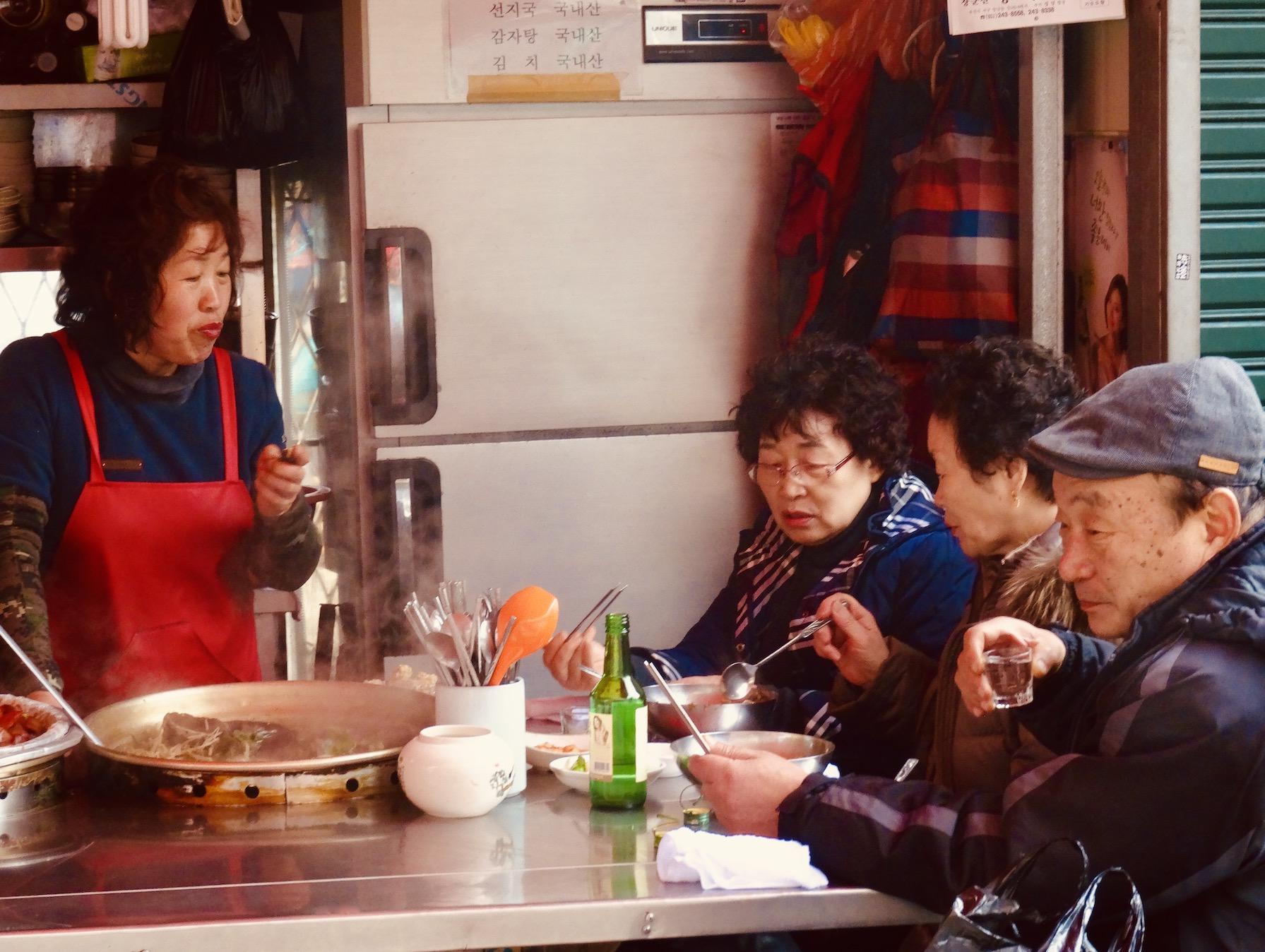 Jagalchi Fish Market South Korea.