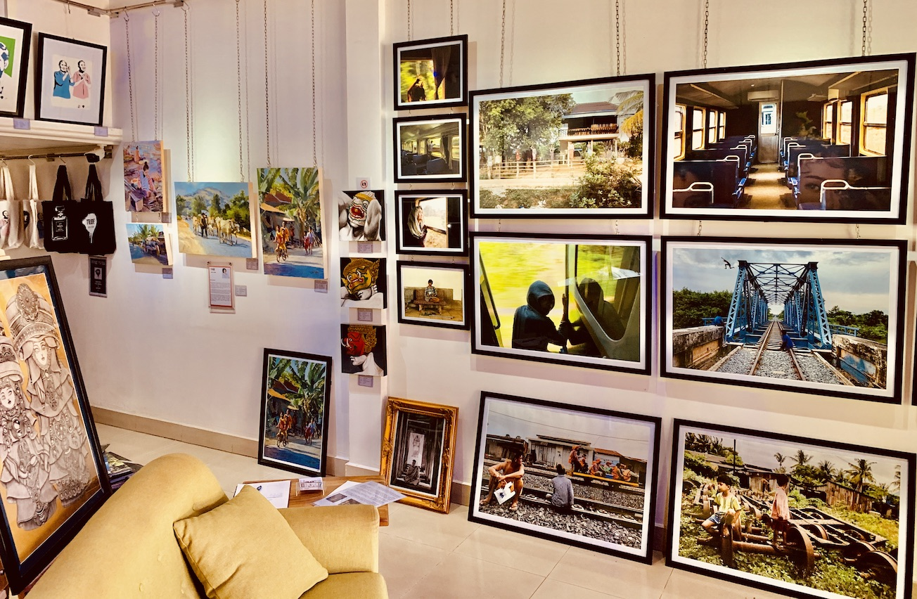 Kak Sok Phirom photography Tribe Art Gallery Siem Reap.