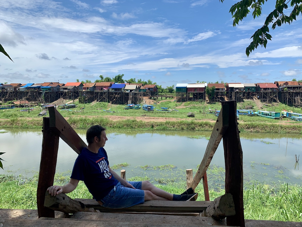 Kampong Khleang Floating Village.