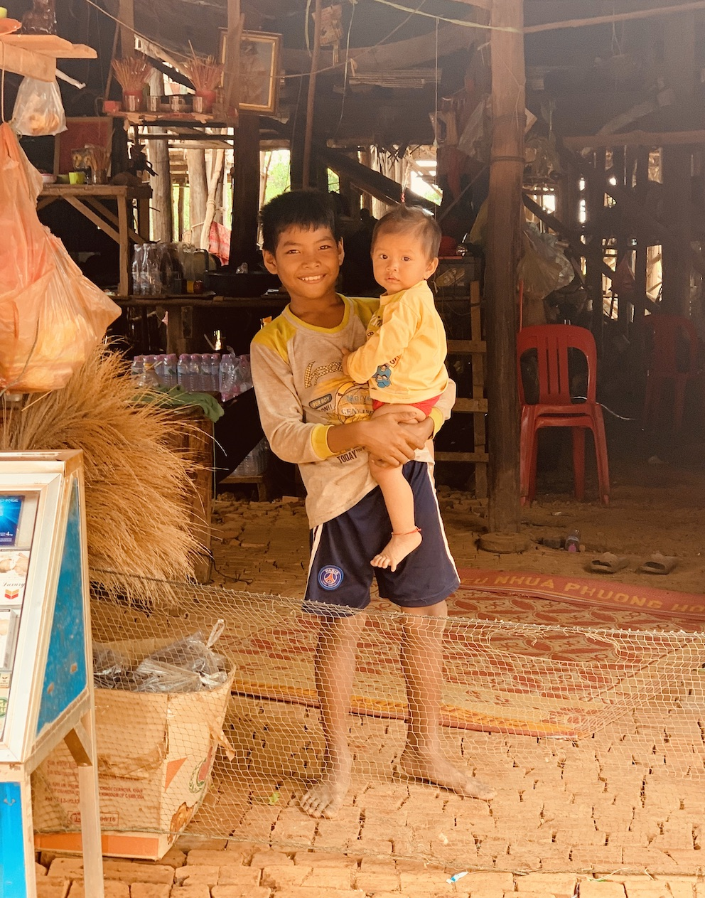 Khmer brothers Siem Reap Cambodia.