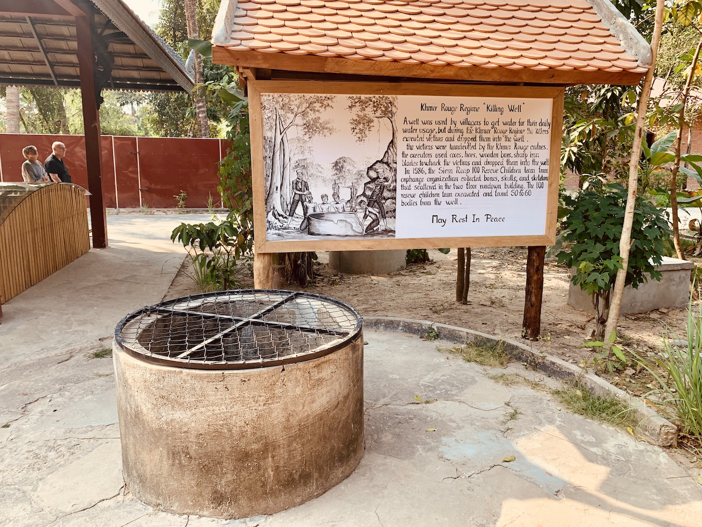 Killing Well, Wat Thmey Pagoda, Siem Reap.