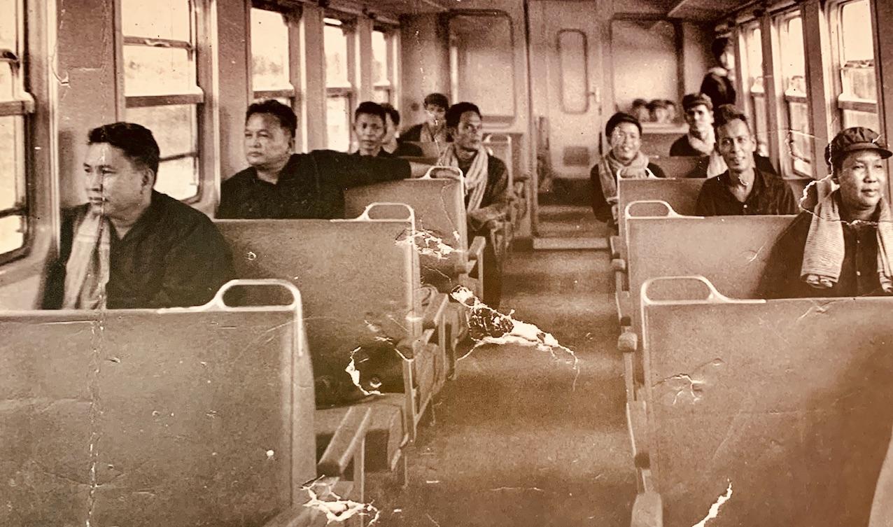 Pol Pot Train carriage photo 1976.