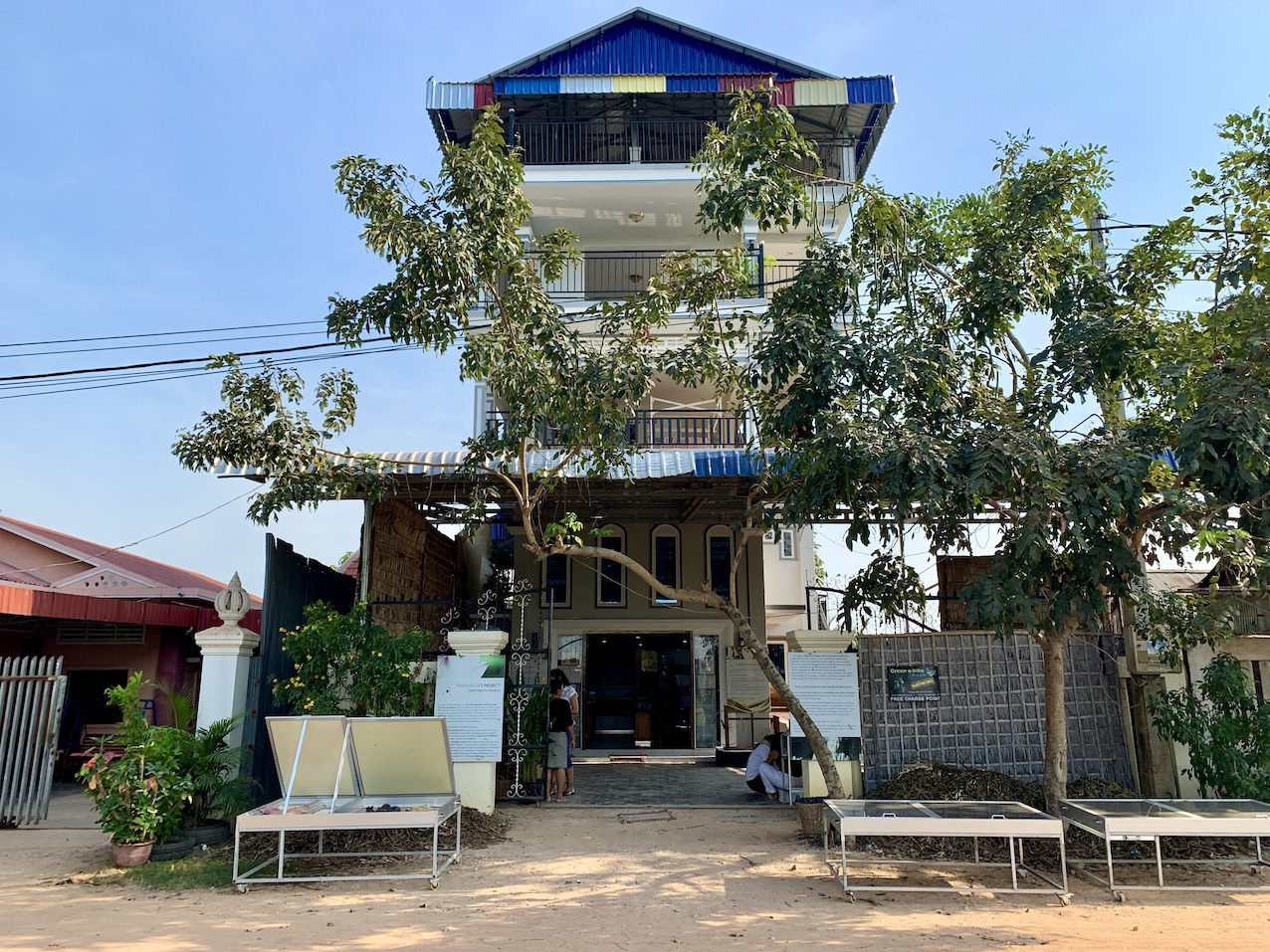 Samatoa Lotus Textile Workshop Siem Reap.