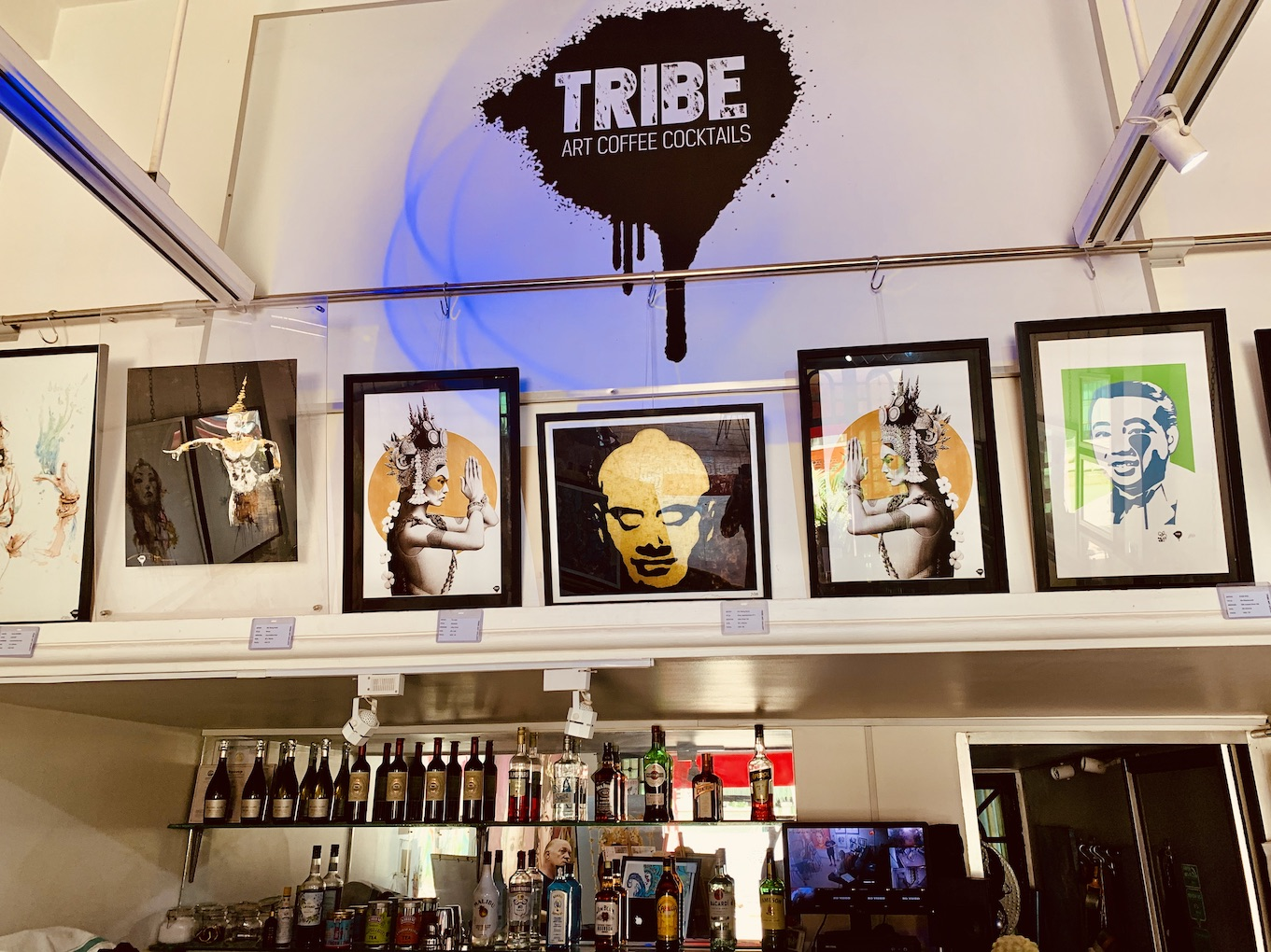 Tribe Art Gallery.