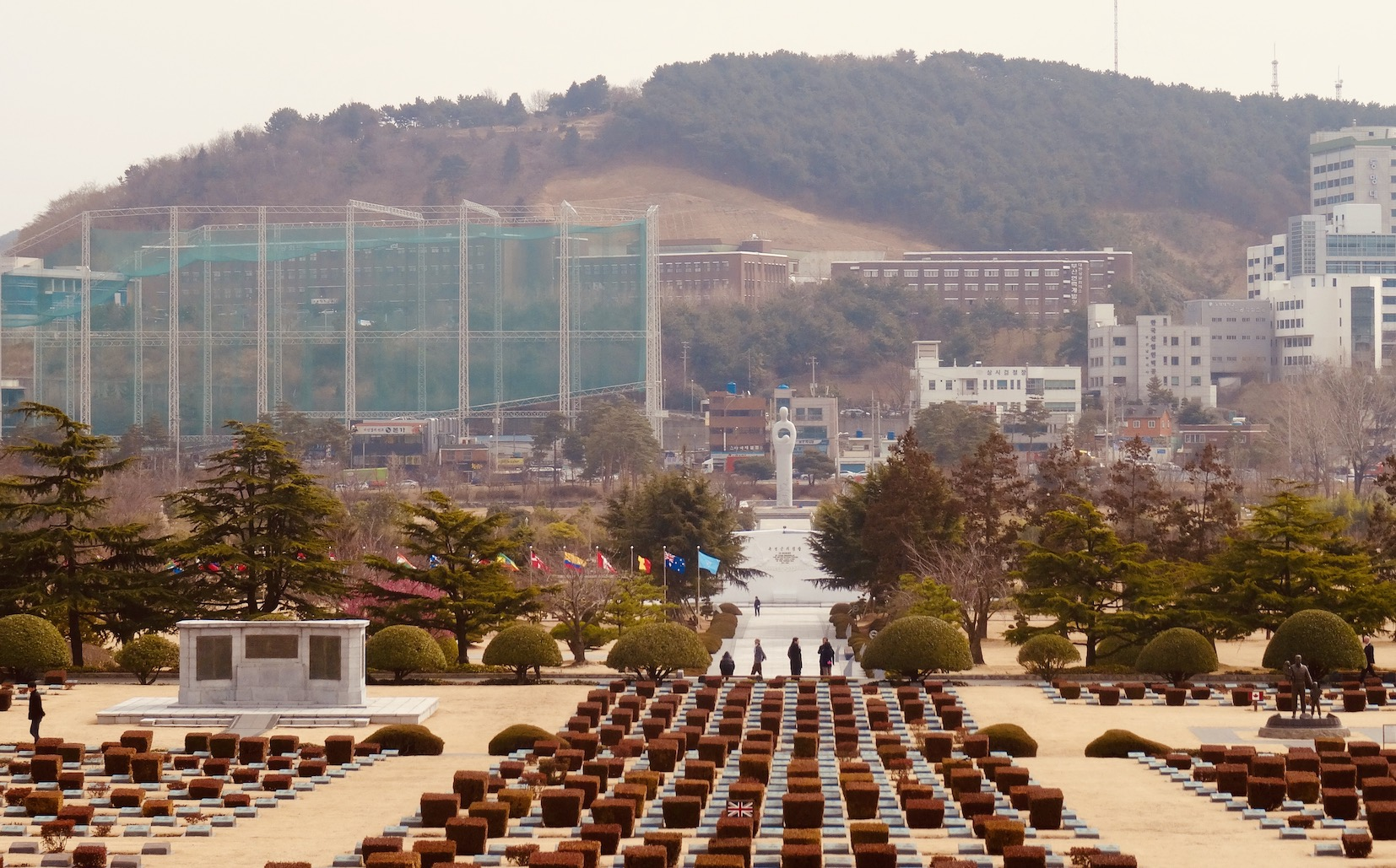 United Nations Memorial Cemetery Busan.