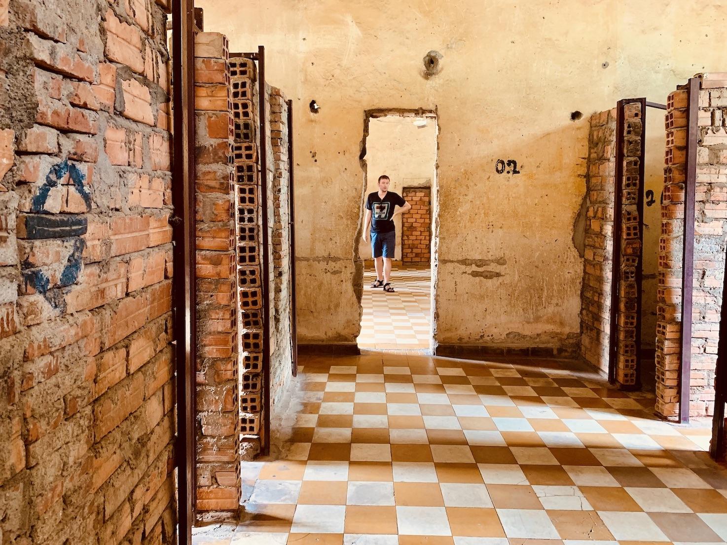 Visit Phnom Penh Tuol Sleng Genocide Museum.