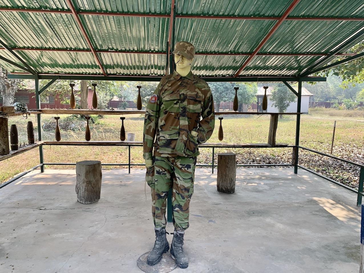 Visit War Remnant Museum Siem Reap.