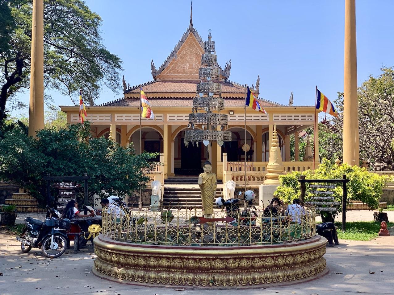Wat Damnak Pagoda Siem Reap.