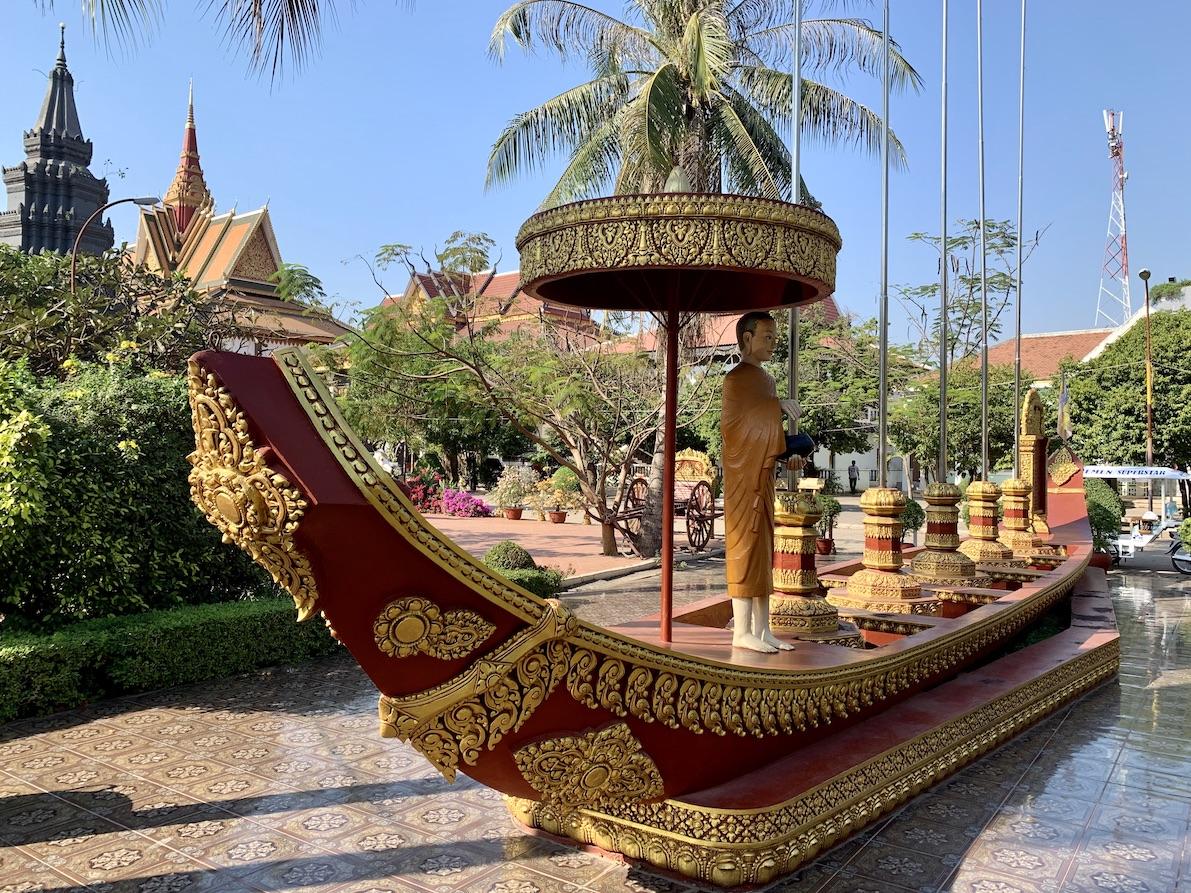 Wat Preah Prom Rath Siem Reap.