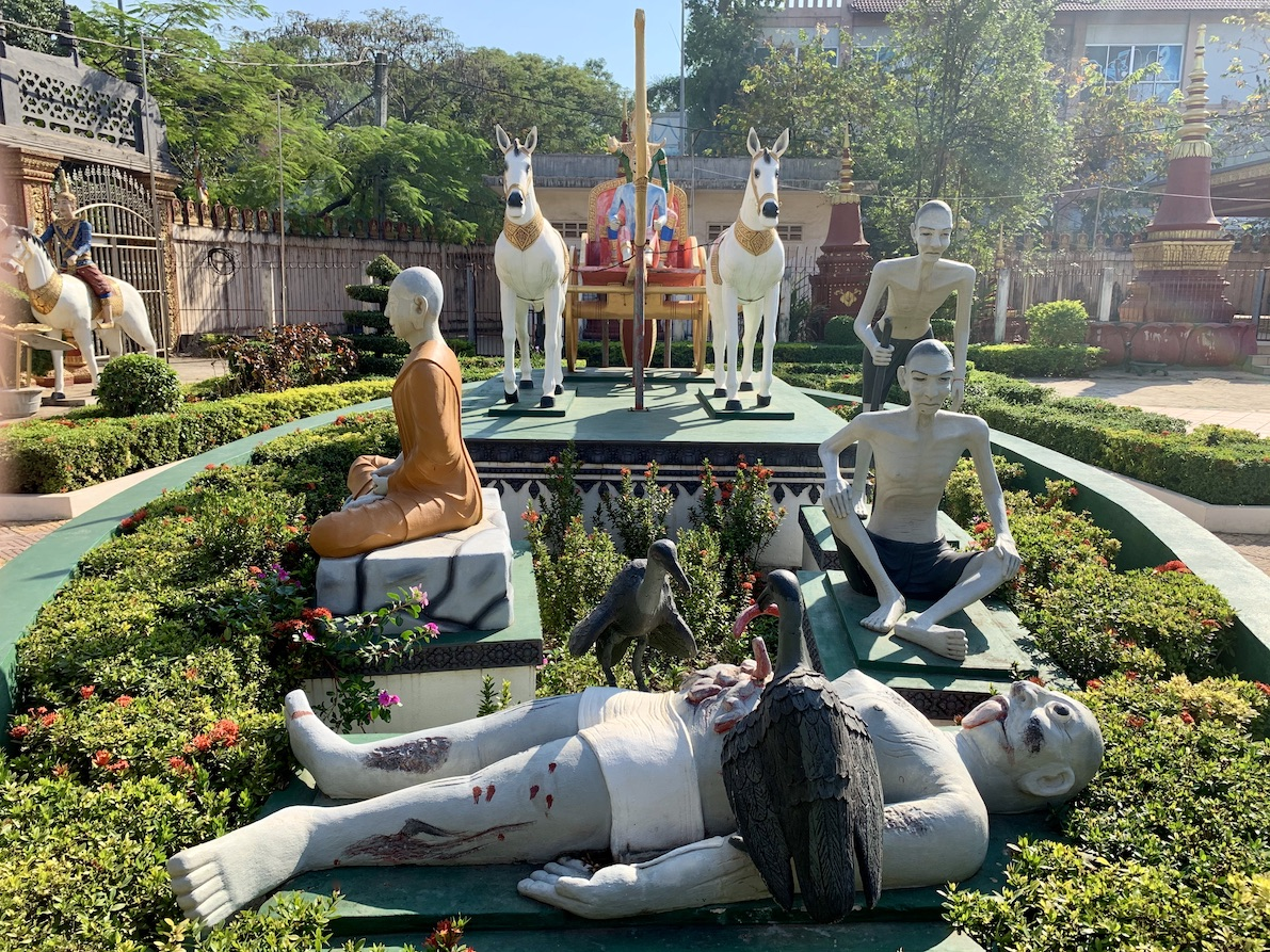 Wat Preah Prom Rath Siem Reap Cambodia.