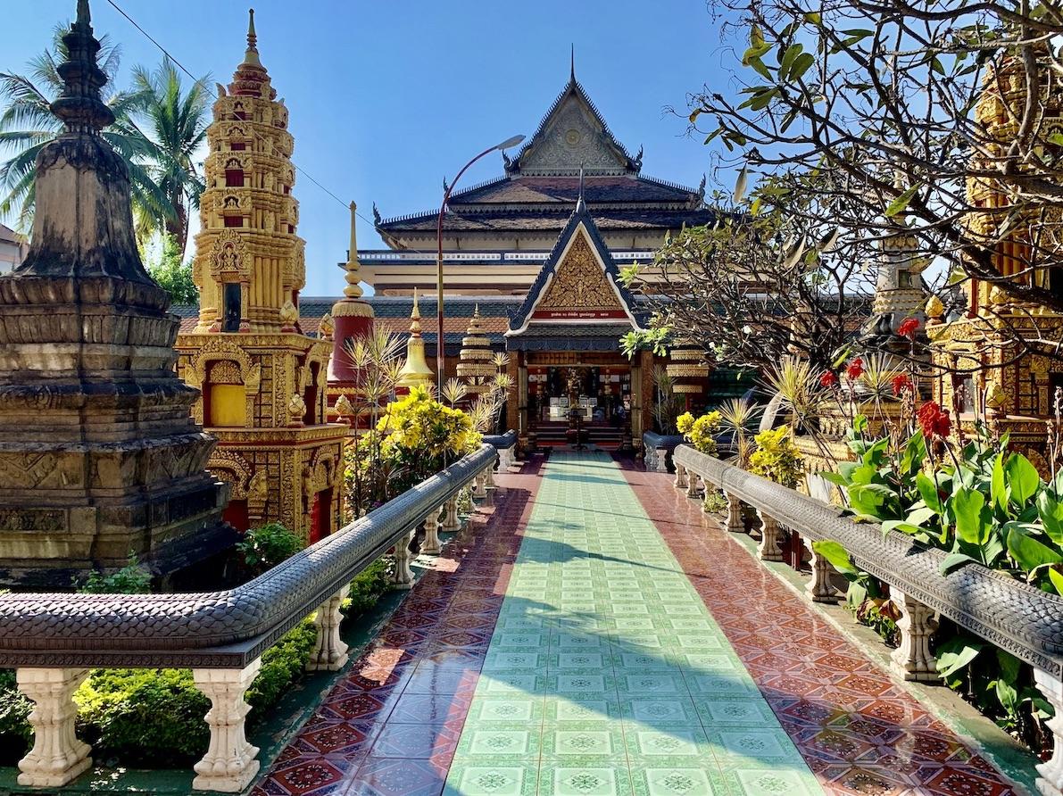 Wat Preah Prom Rath Temple Siem Reap.