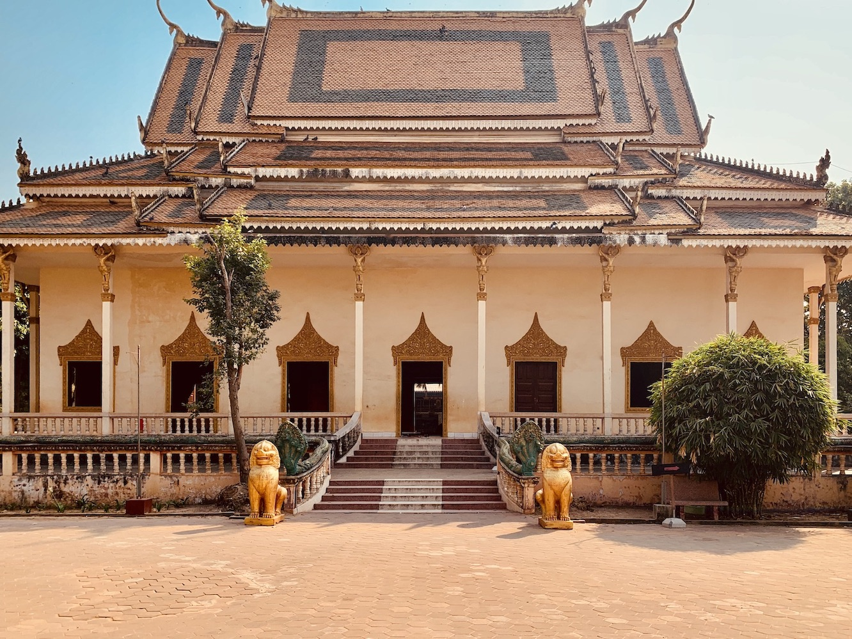 Wat Thmey Pagoda Siem Reap.