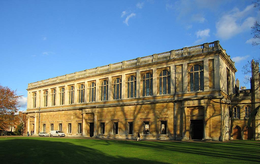 Wren Library Cambridge.