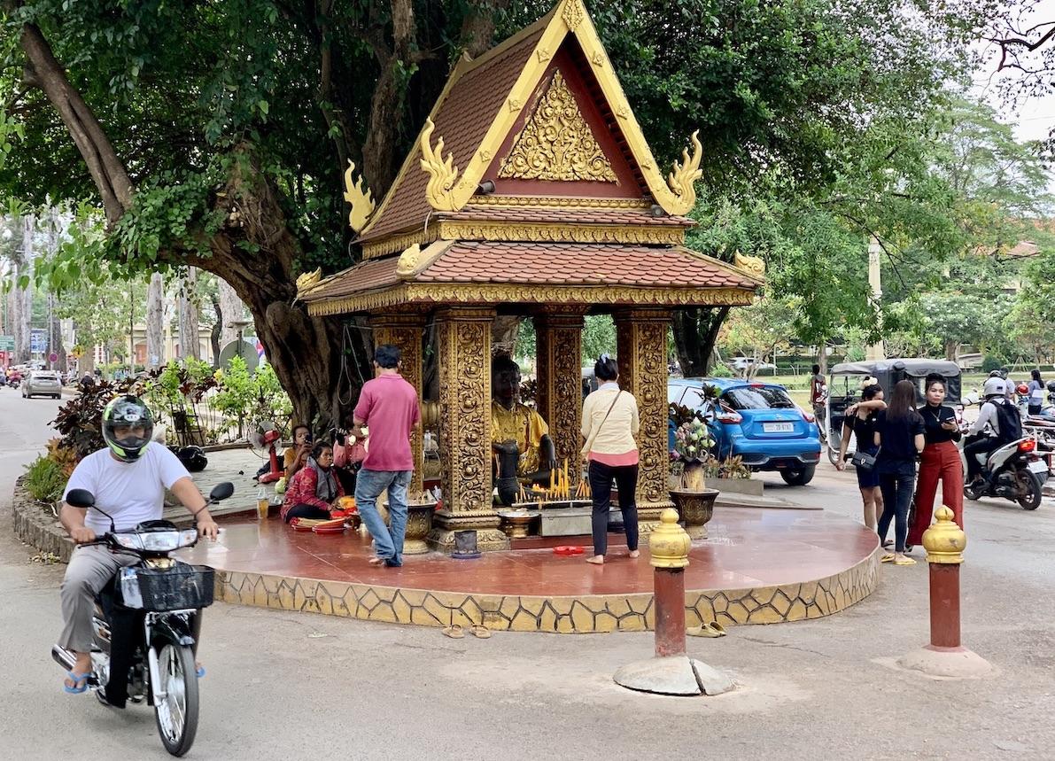 Ya Tep Shrine Siem Reap.