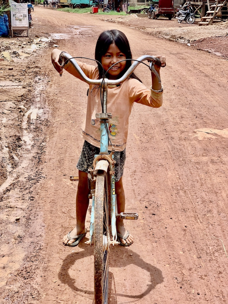 Young Khmer girl Cambodia.