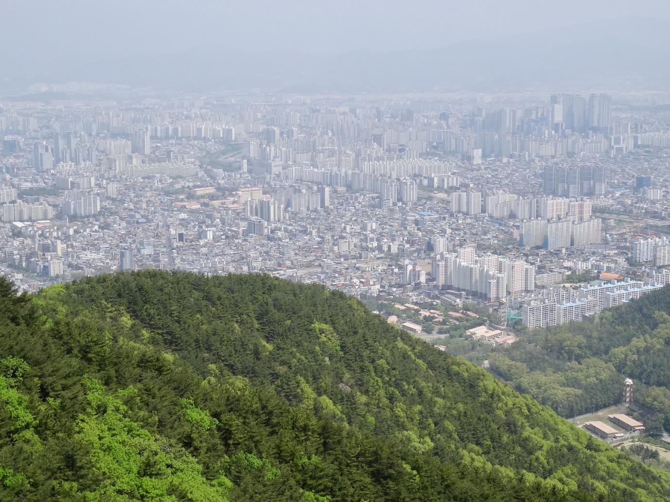 Apsan Mountain South Korea.