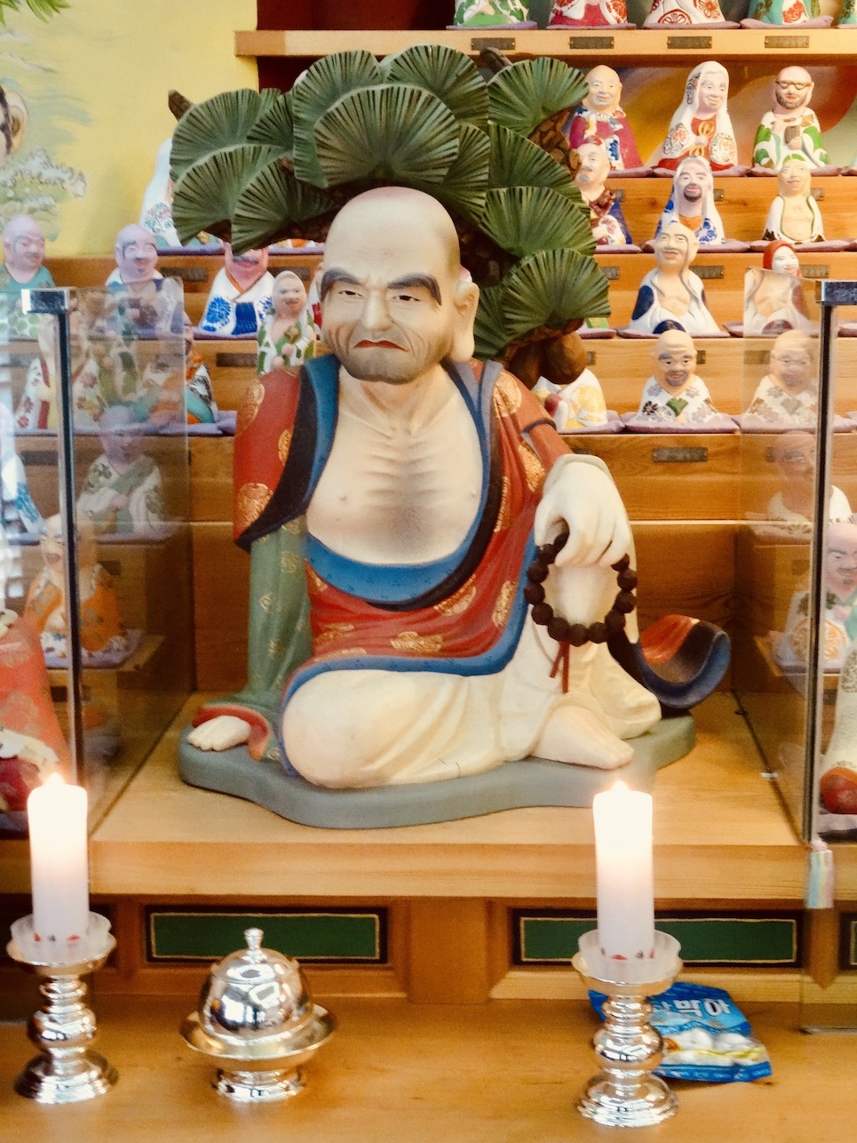 Buddha room Yongmunsa Temple.