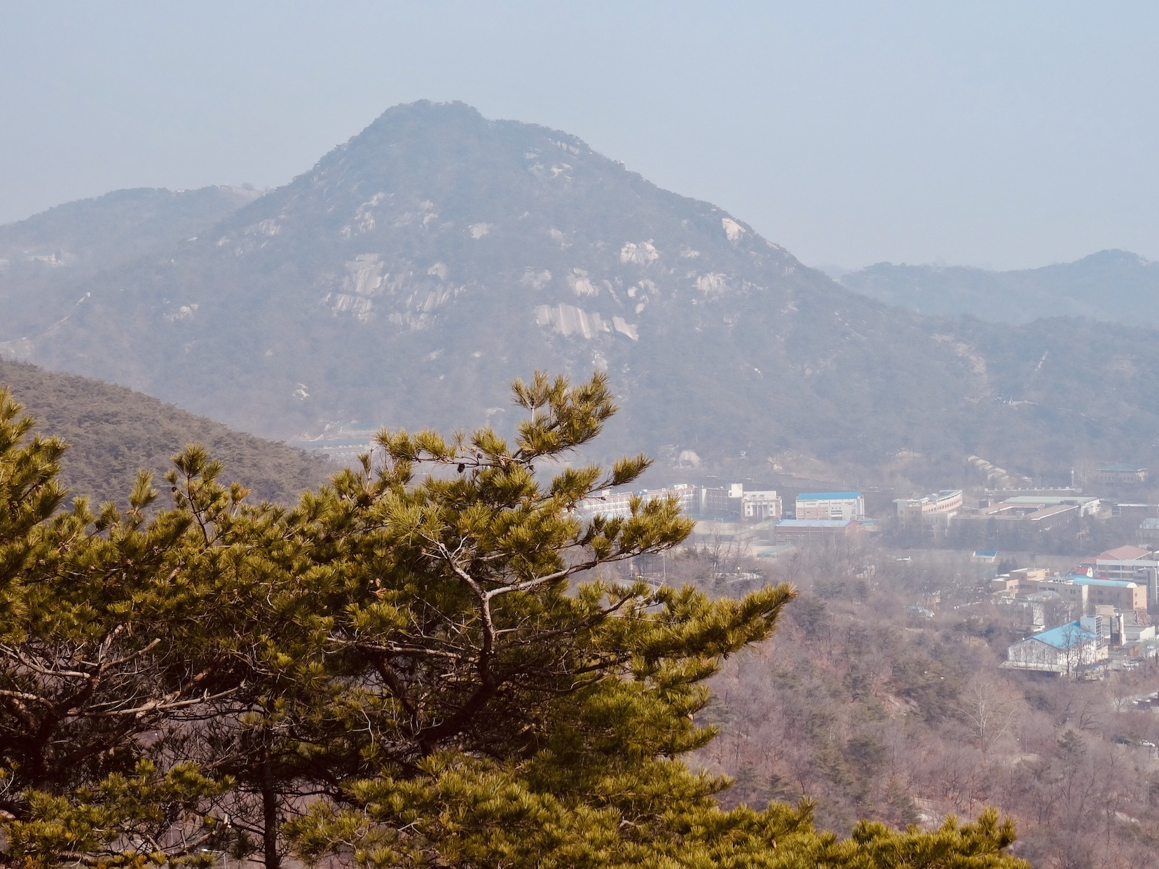 Bugaksan Mountain Seoul.