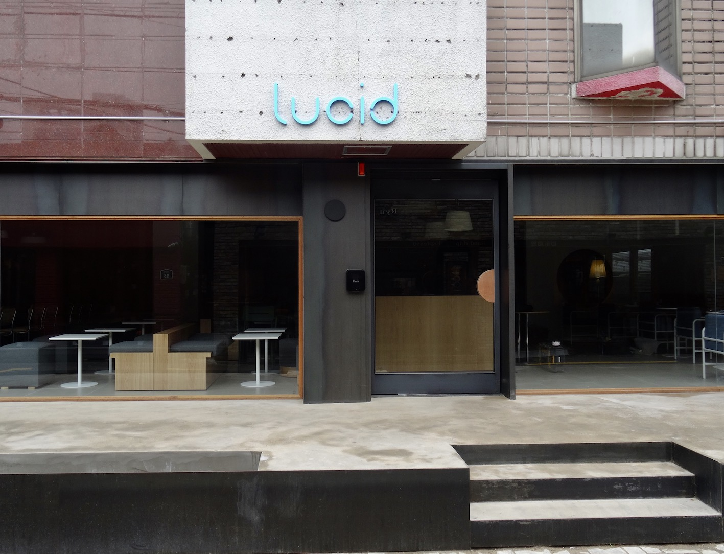 Cafe Lucid Daegu.