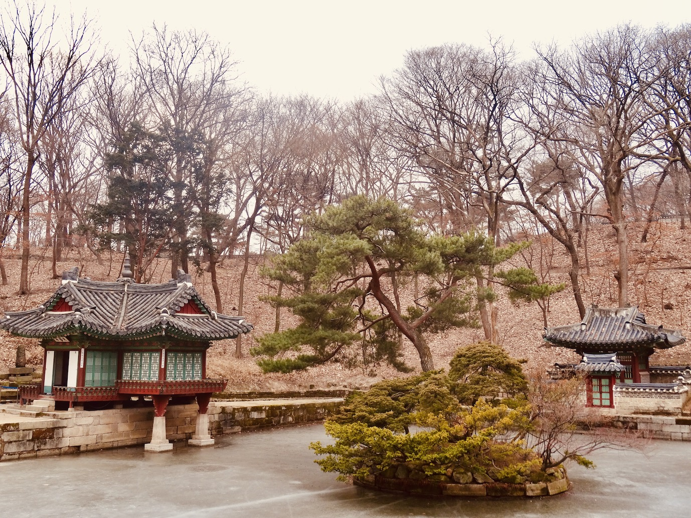 Changdeokgung Palace Seoul.
