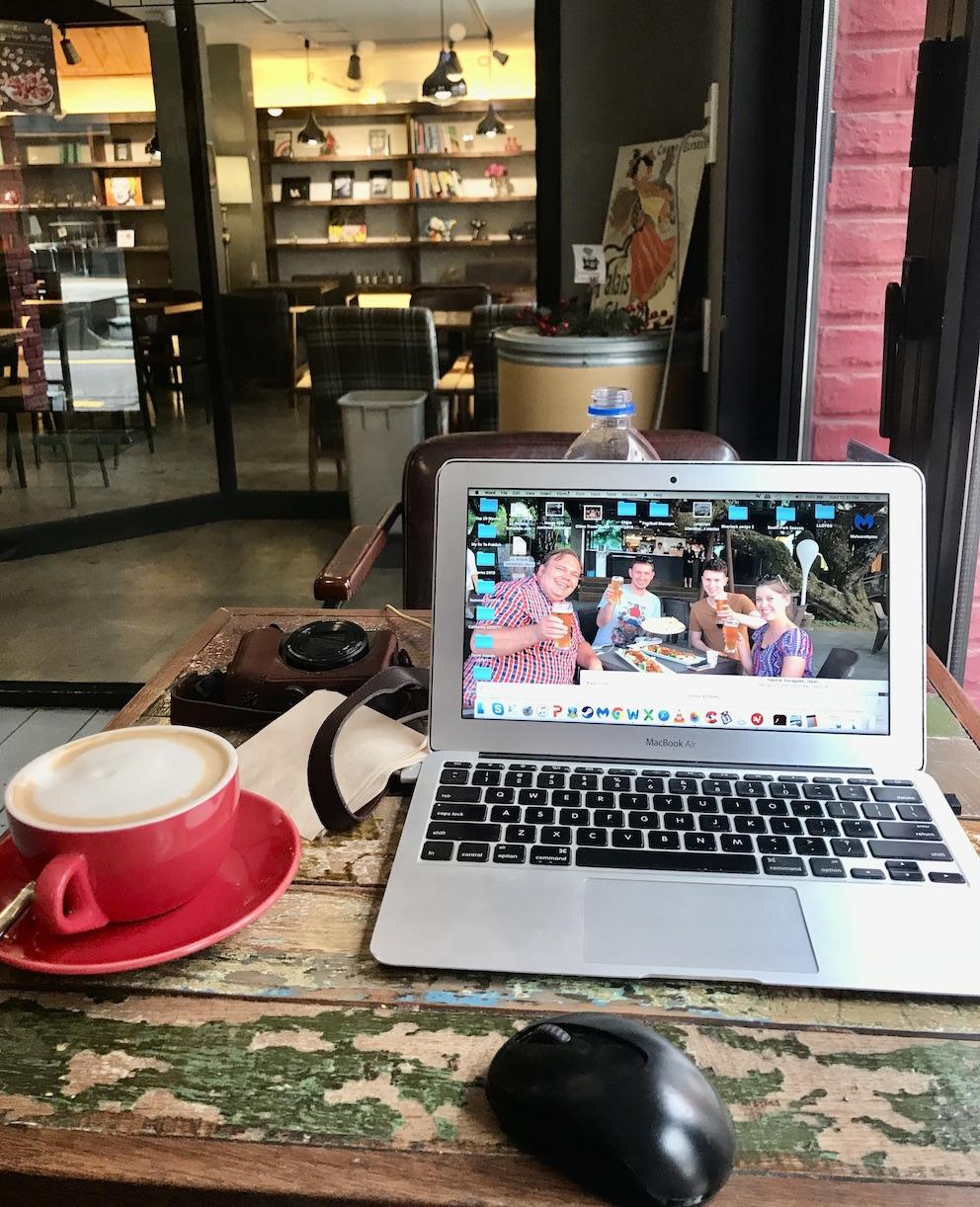 Dongseongno Cafe Alley Daegu.