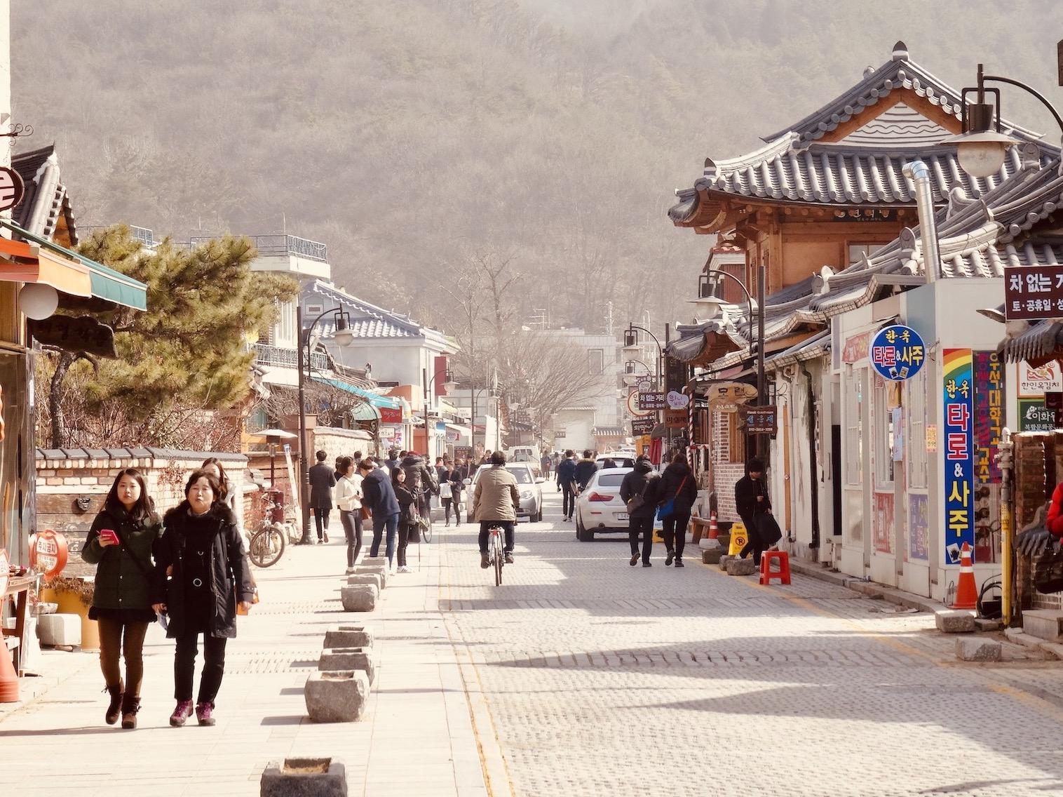 Hanok Village Jeonju.