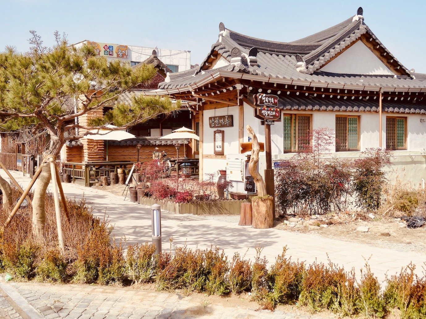 Hanok guesthouse Jeonju South Korea.