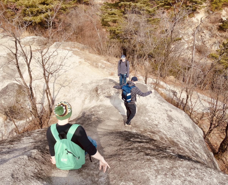 Ingwansan Mountain Seoul.