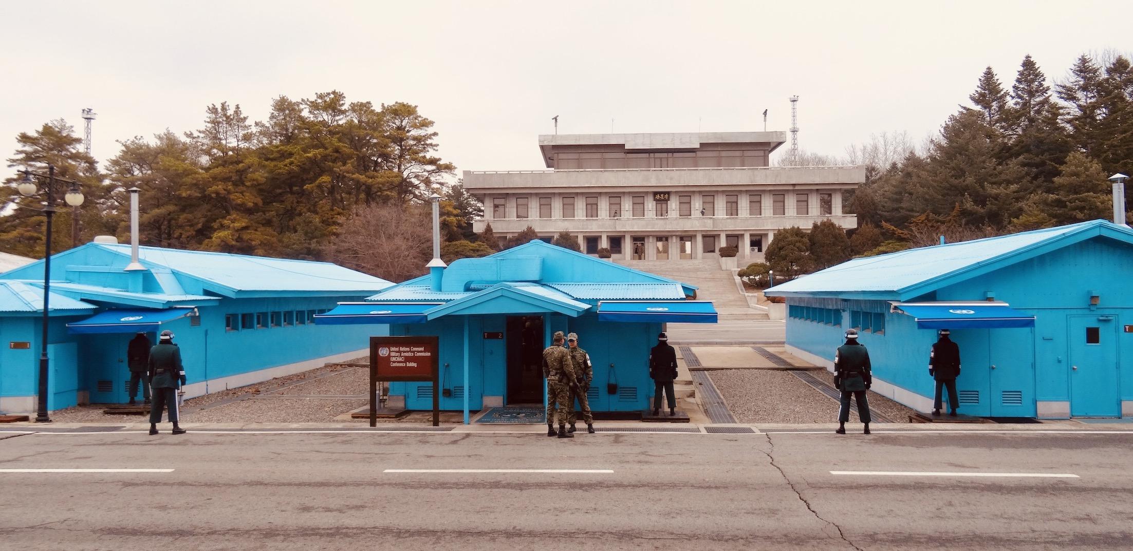 JSA DMZ South Korea.